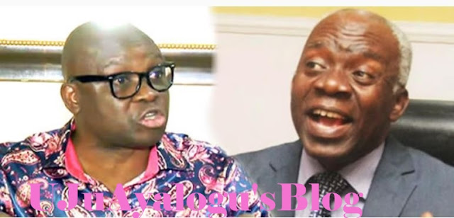 Fayose, Falana Trade Words over Abuja N1bn Property