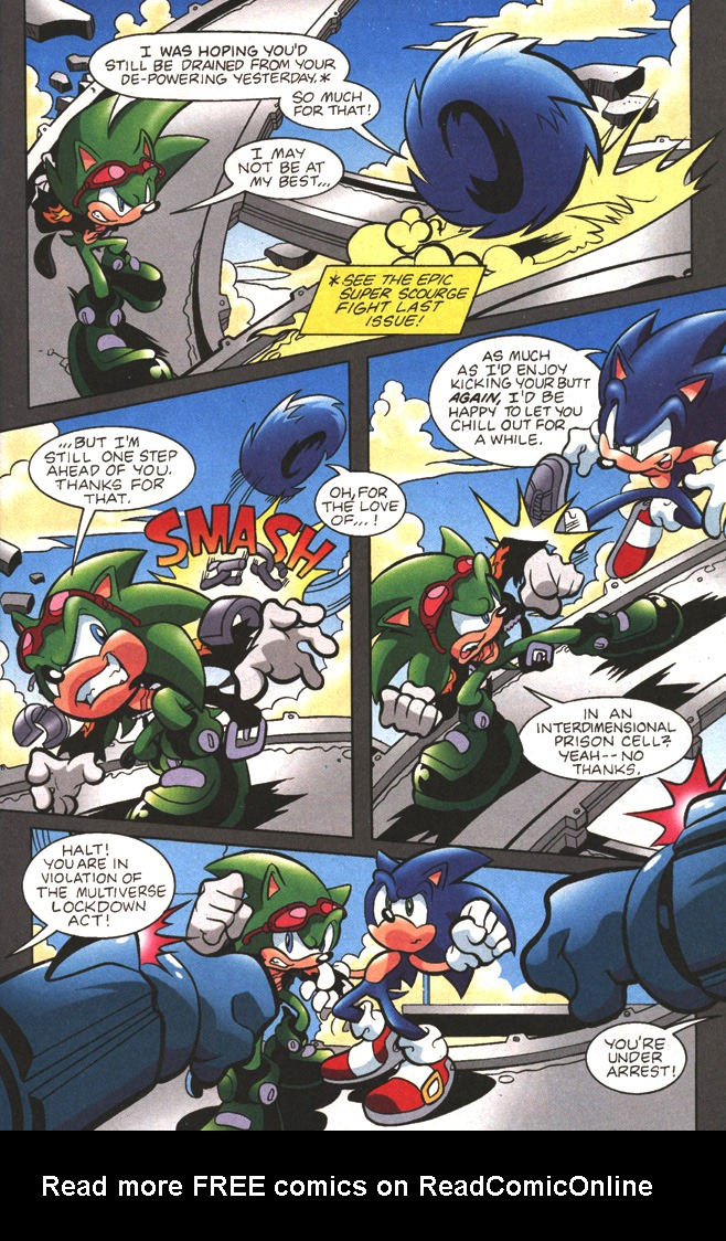 Read online Sonic The Hedgehog comic -  Issue #197 - 5
