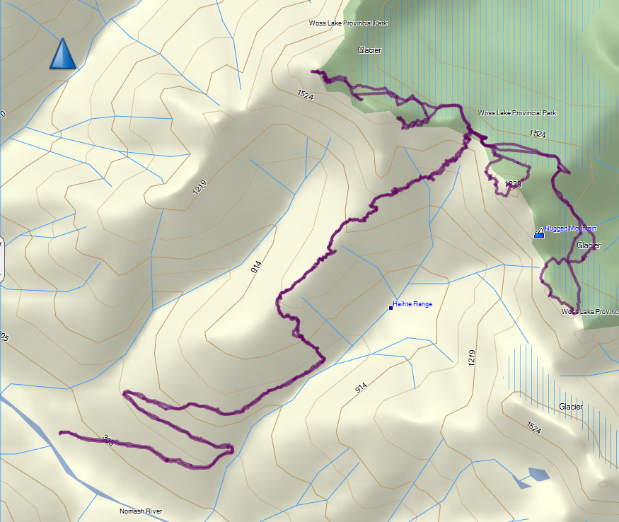 GPS Route & Map with photographic annotaion
