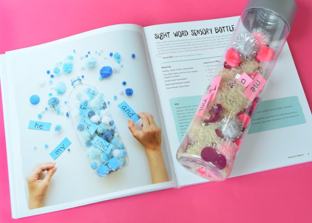 Sight Word Discovery Bottle.  Great activity to encourage children to learn sight words, or modify to learn letters, numbers, shapes, or colors!  Fun game for toddlers, preschoolers, or kindergarteners.