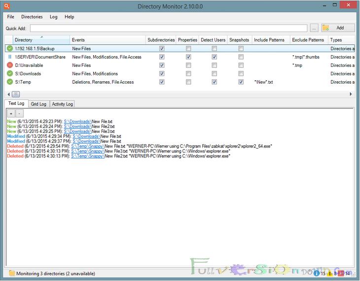 Directory Monitor Pro Full Version