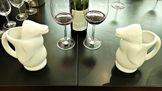Cálices de Vinho entre Pinguins, na Bodega Trivento, Mendoza