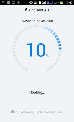Proses Root Android Dengan KingRoot