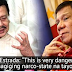 VIRAL : Former President Erap Estrada Says We Would Be a 'Narco State' Now If Not For Duterte