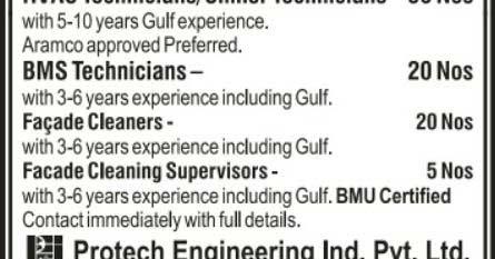 Protech Engineering Jobs In Saudi Arabia Job Inbox