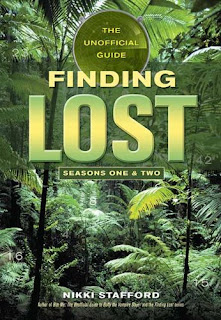 cover to Nikki Stafford's 'Finding 'Lost': The Unofficial Guide, Seasons One and Two' depicting the title and other copy in green over jungle foliage