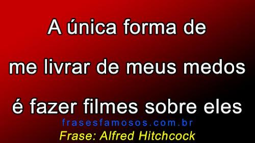 Frases de Alfred Hitchcock, diretor e produtor de cinema, o Mestre do Suspense