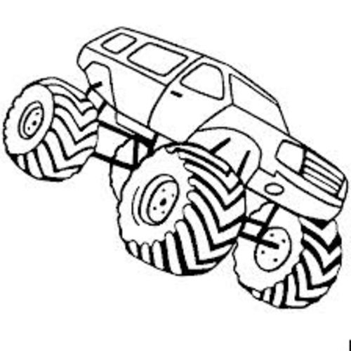 monster truck coloring pages online | Coloring Pages Of Monster Trucks - Best Coloring Pages ...