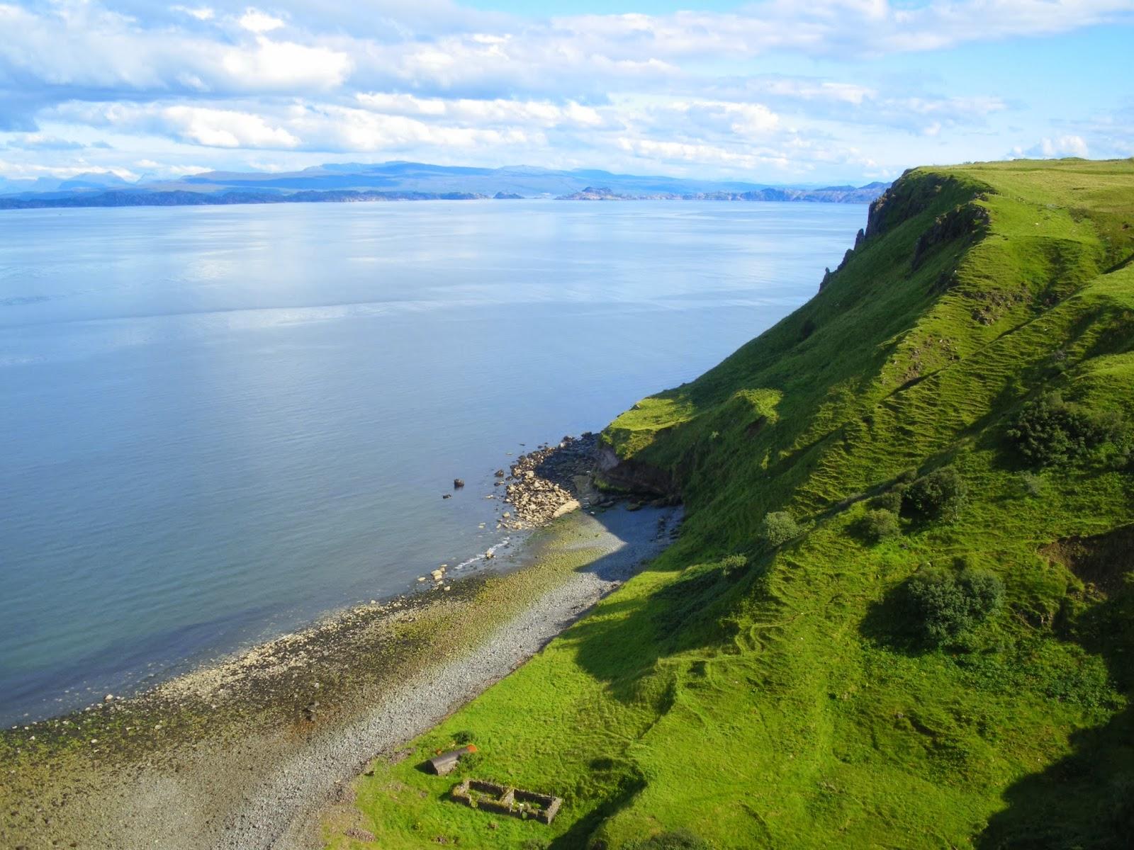 Isle of Skye, Trotternish, Highlands, Scotland, Escocia, United Kingdom, Inver Tote, Lealth Valley