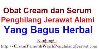 Obat cream dan serum penghilang jerawat alami yang bagus herbal