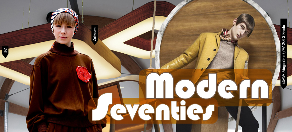 TRENDS // TRENDSTOP - FASHION TREND OF THE YEAR . MODERN SEVENTIES