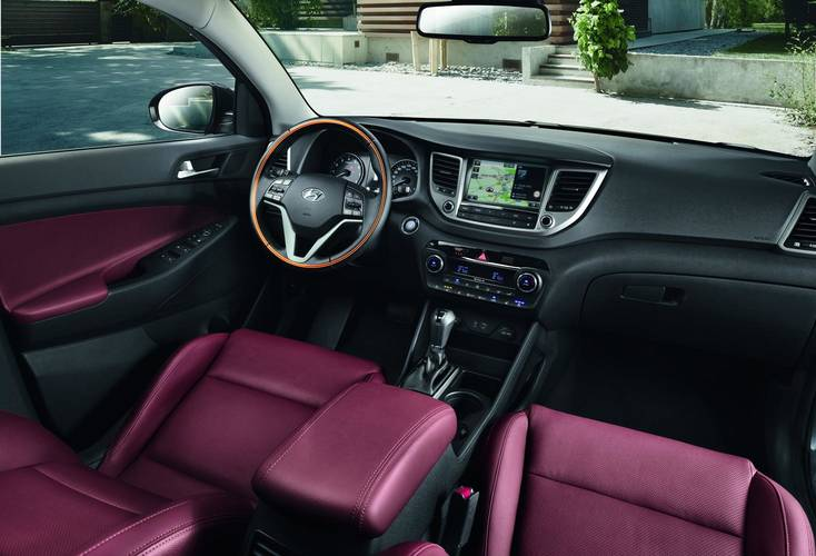 2017 hyundai tucson red interior pictures and photos new 2016 crossover suv images types cars. Black Bedroom Furniture Sets. Home Design Ideas