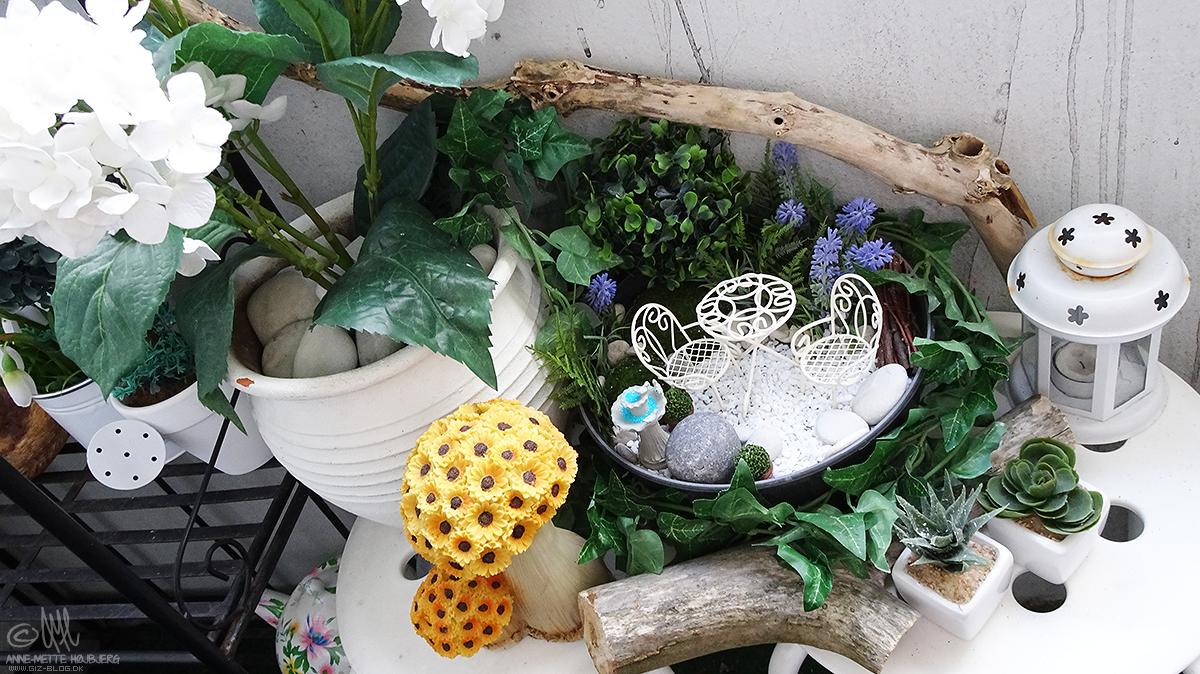 """Giz blog.dk: diy   lav din egen lille """"fairy garden"""""""