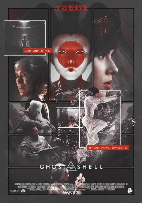 Movie And Tv Cast Screencaps Ghost In The Shell 2017 Directed By Rupert Sanders 173 Screen Caps