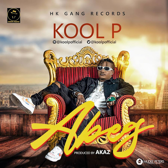 """Koolp is gradually proving to be the winning act in His genre. After featuring some of your favorite superstars like Zoro in Oma Mme and recently Phynofino in Eze Nku which gained popularity and back to back airplays all over Nigeria and beyond,  Kool P shows He has got it all by going solo on this new track """"Abeg"""" delivered in his local dialect.  Certainly, music is beyond language as anyone will surely love this banger. KoolP is the ceo of HongKong Gang Entertainment and has two artists on his label . Olisa and Dabright."""