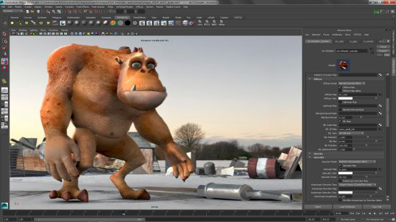 Auto Desk Maya 2014 screenshot 2