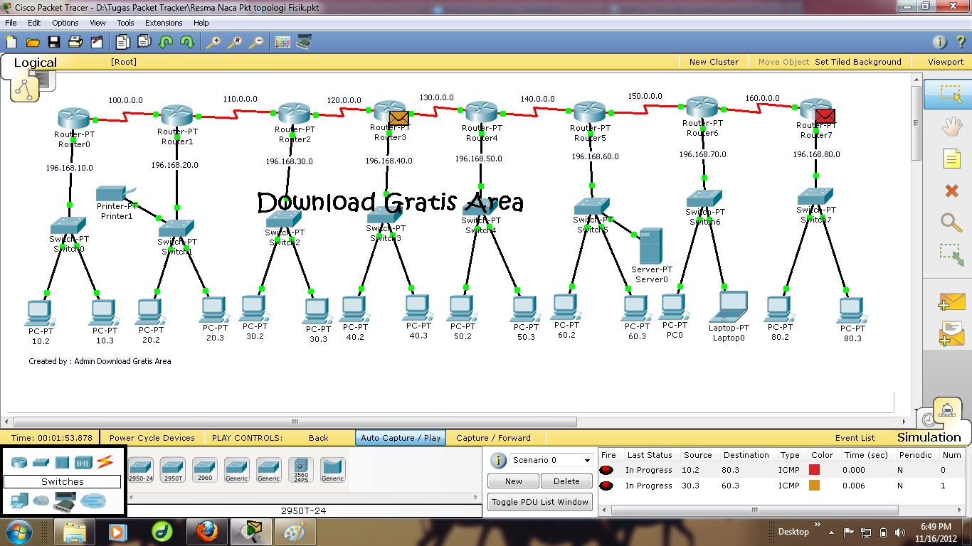 GRATUITEMENT PACKET TRACER 5.3 TÉLÉCHARGER CISCO