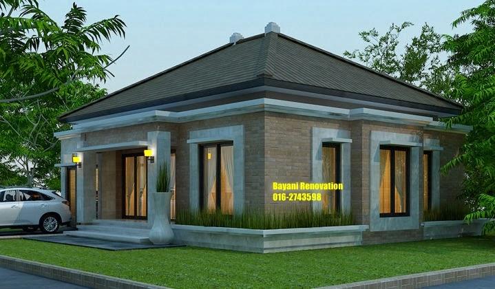 Desain Rumah Moden Satu Lantai Bayani Home Renovation