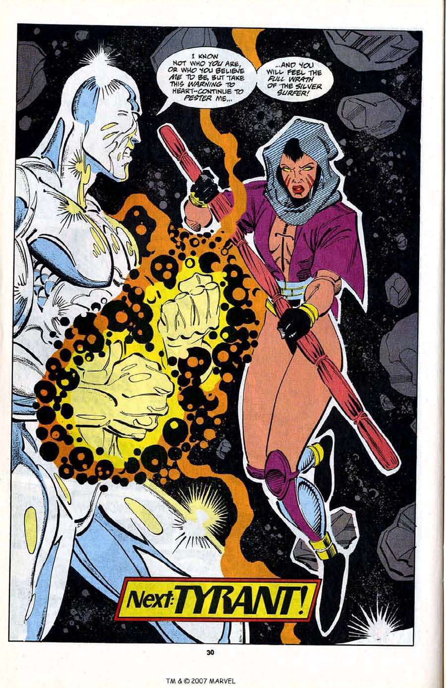 Read online Silver Surfer (1987) comic -  Issue #80 - 32