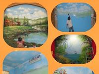 Jasa pembuatan mural lukis dinding interior dan eksterior