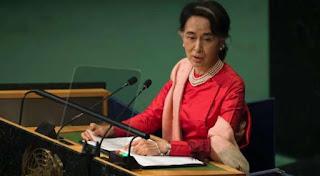 Myanmar civilian, military leaders meet; vow to 'crush' Rakhine rebels