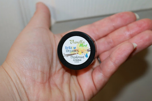What's the Deal Dreadful? Review of Bella Organic Vanilla Mint Deodorant