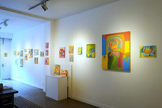 Expo : Laurent Garcin, abstraction figurative solaire - Galerie L'Œil du Huit - 8 rue Milton - Jusqu'au 7 juin 2015