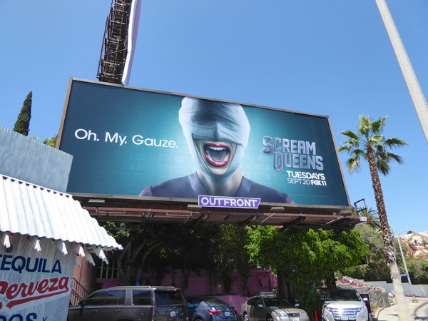 Scream Queens season 2 billboard