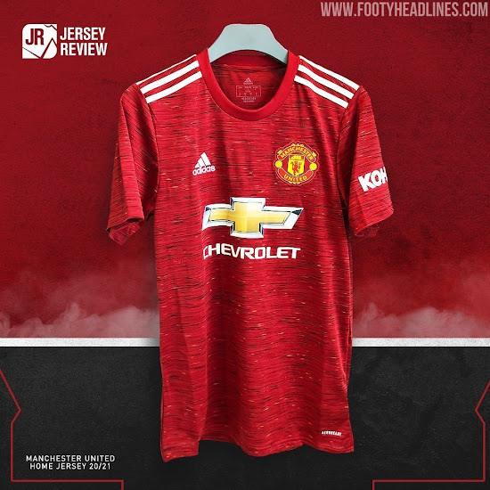 Manchester United 20 21 Home Away Kits Leaked 10 Minute Video With New Details Footy Headlines