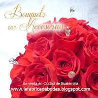 buquets ramos de novia dama 15 con cristales gotas flores swarovski en rosas en Guatemala