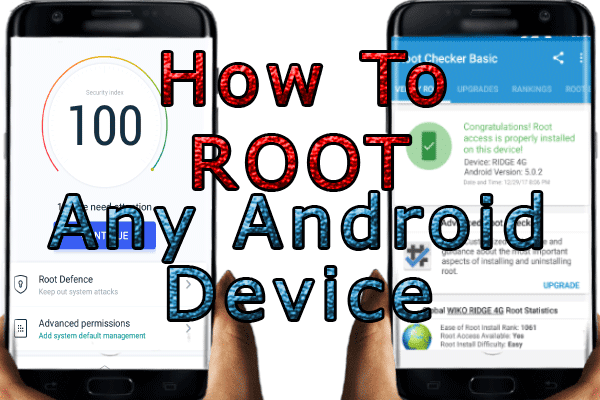 How To ROOT Almost Any Android Device Easily||One 1min (2017)