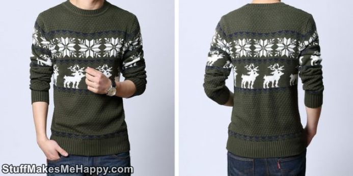 2. Sweater with Deer
