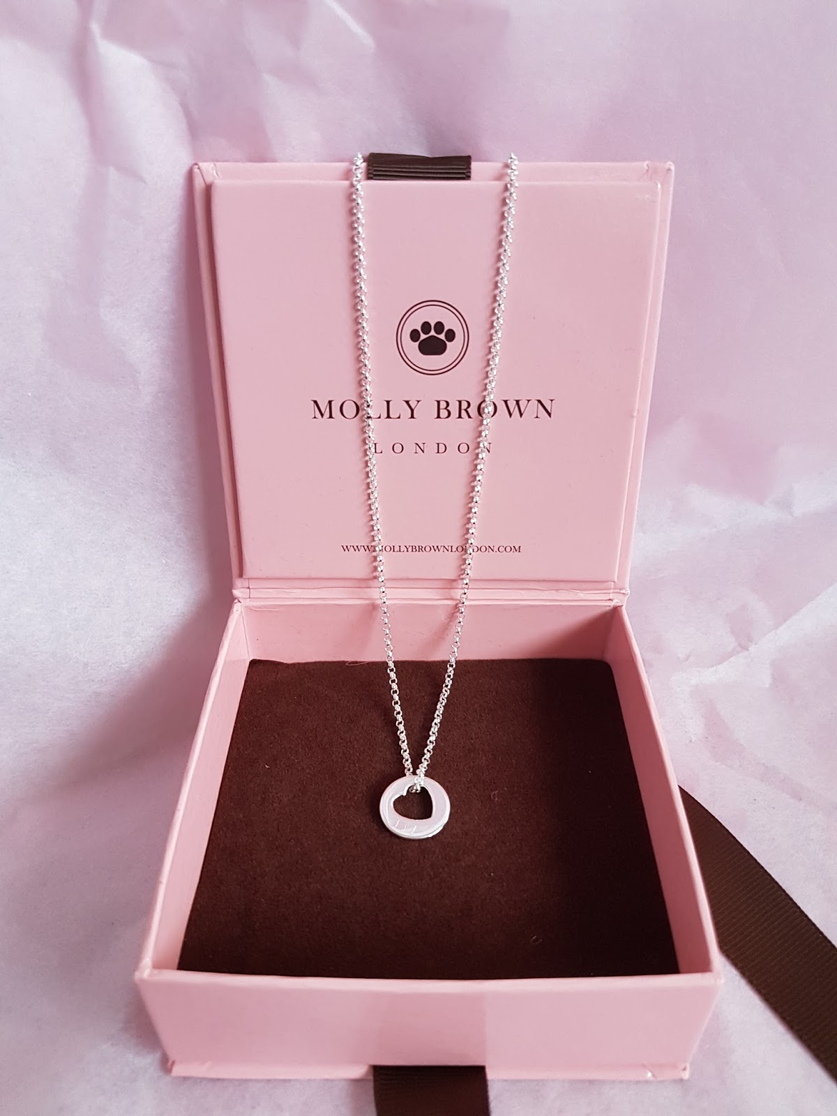 The Personalised Hope Open Heart Necklace Costs 42 Which I Think Is Such An Amazing Price For This Everything So Lovely From Gift Bag