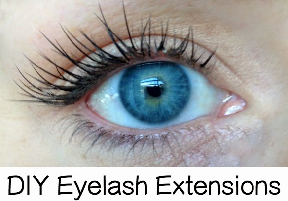 DIY Eyelash Extensions featured by top US lifestyle blogger, Kara Metta | Great tutorial on how to do your own eyelash extensions at home.