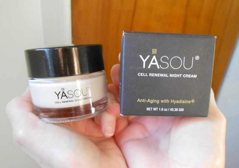 Yasou Natural Skin Care Cell Renewal Night Cream