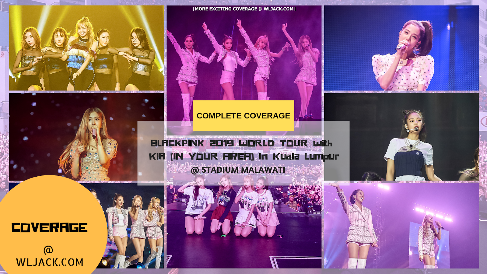 Complete Coverage] BLACKPINK 2019 WORLD TOUR with KIA [IN