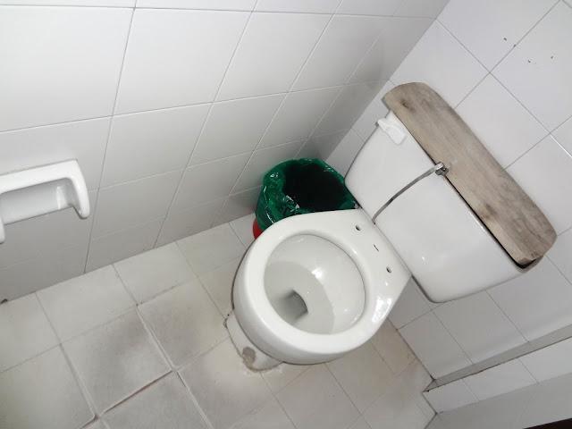 コロンビア(ボゴタ)のトイレ事情