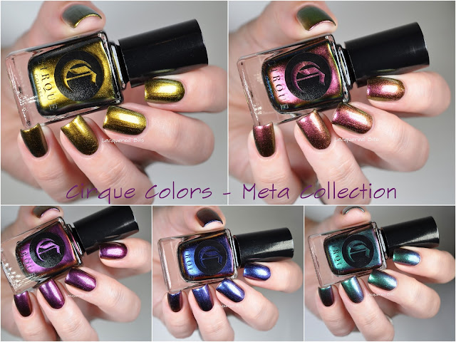 Cirque Colors Meta Collection Swatches & Review