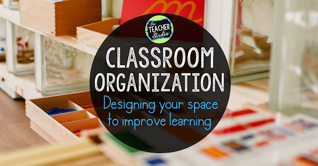 Classroom space planning and classroom organization are critical parts of helping teachers be more efficient and to help students learn. Use these classroom organization tips, anchor chart ideas, math manipulative storage ideas, math game storage ideas, and more! third grade math, fourth grade math, math workshop, math stations, math centers, teaching math, guided math