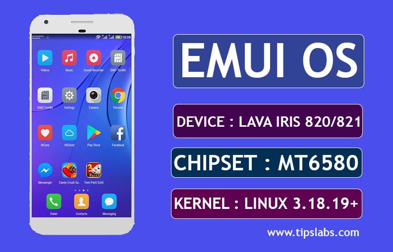 [MT6580] [6.0.1]  Custom Rom For Lava Iris 820