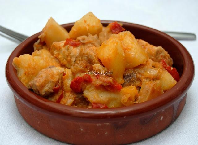 Sorropotún Guiso de Bonito con patatas y verduras