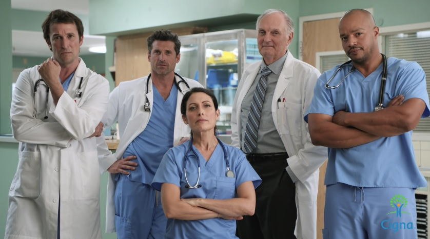 Cigna Ad Tv Doctors Of America Featuring Alan Alda Donald Faison