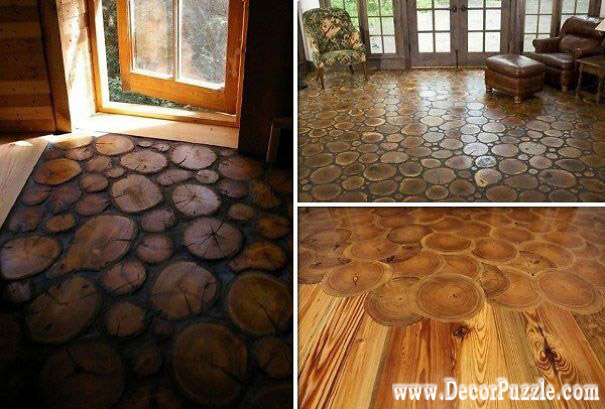 creative flooring, trunk flooring, flooring ideas, wooden floor, flooring options