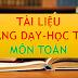 TÀI LIỆU MÔN TOÁN THCS-THPT (TÀI LIỆU TOÁN LỚP 6-7-8-9-10-11-12)