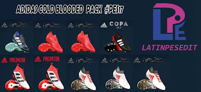 PES 2017 Adidas Cold Blooded Pack 2018 by LPE