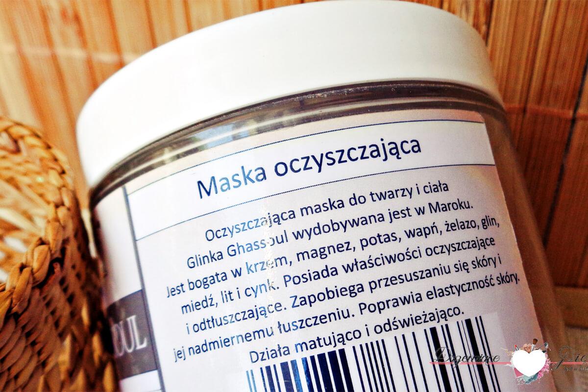 Glinka Ghassoul Nacomi | Jak stosować? Efekty, działanie oraz właściwości glinki Ghassoul