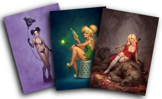 Female+Fantasy+Miniatures+-+Matt+Dixon.j