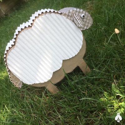 boîte mouton en carton