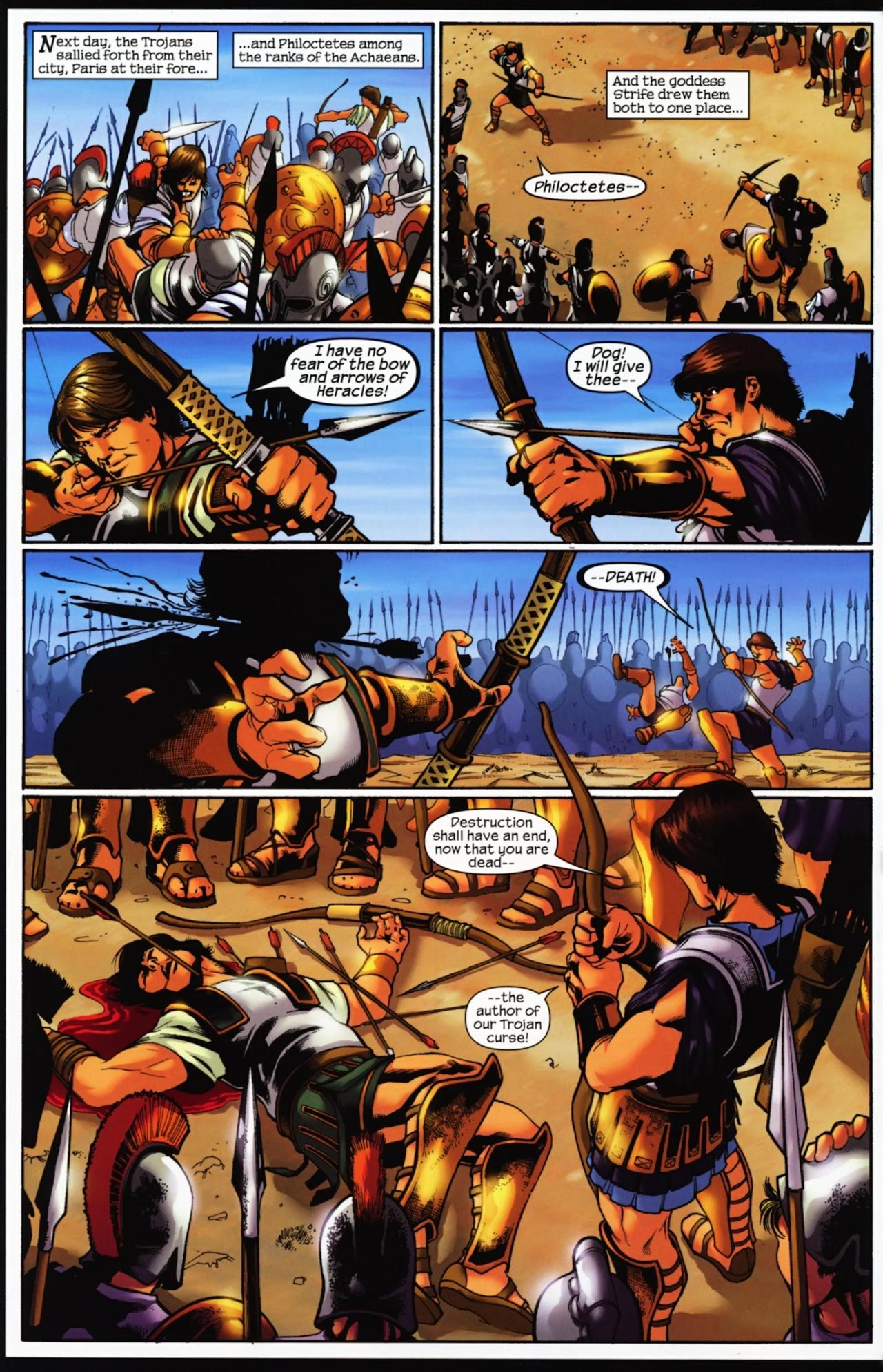 Read online Trojan War comic -  Issue #4 - 16