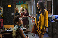 Logan Browning and Antoinette Robertson in Dear White People Netflix Series (2)